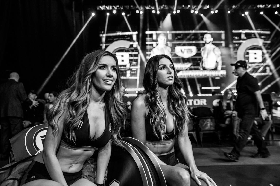 Bellator MMA ring girls