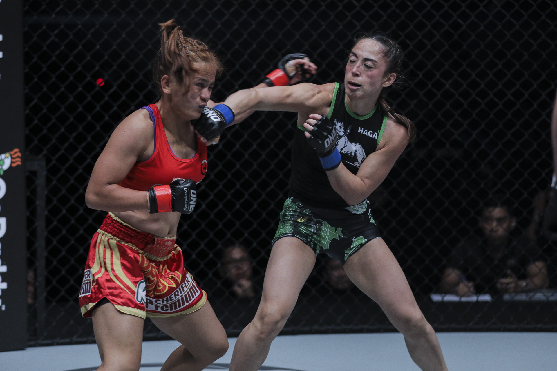 Fight 3 Gina Iniong vs Natalie Gonzales Hills
