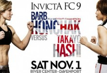 Invicta FC 9: Official Weigh-Ins LIVE on MMA Plus at 9pm GMT