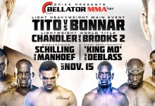 Bellator 131 full card finalised