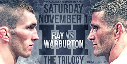 Cage Warriors 73 Preview: Ray vs. Warburton 3
