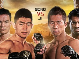 Ji Xian to face Song Ya Dong at ONE FC Dynasty of Champions