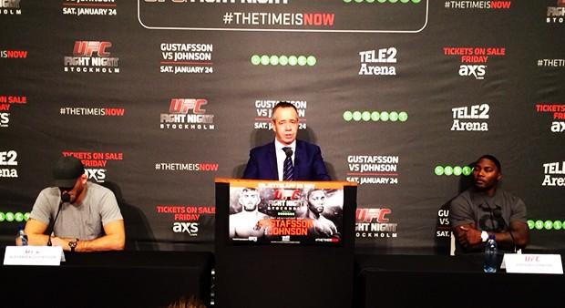 UFC on Fox 14 Alexander Gustafsson vs. Anthony Johnson Press Conference