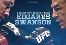 UFC Fight Night 57 Results: Edgar submits Swanson at the death