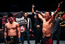 Ji Xian decisions Ya Dong at ONE FC Dynasty of Champions