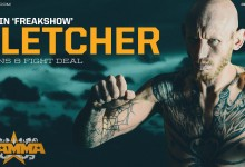 Colin 'Freakshow' Fletcher extends BAMMA contract with 8 more fights
