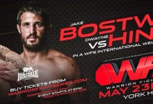 Jake Bostwick vs. Dwayne Hinds added to Warrior Fight Series 3