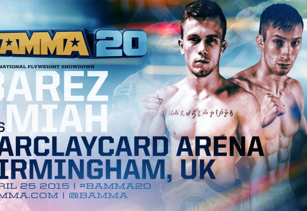 BAMMA 20: Flyweight champion Saadeh out, Daniel Barez steps in vs. Chris Miah