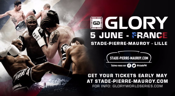 GLORY 22 fight card leaked, set for Lille, France on June 5