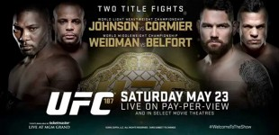 UFC 187 Weigh-Ins LIVE on MMA Plus on Saturday at 12am GMT