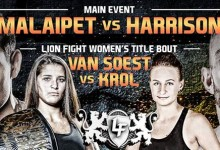 Lion Fight 23 preview: Muay thai featuring Liam Harrison, Tiffany Van Soest and Kevin Ross