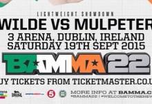 BAMMA 22 Exclusive: Philip Mulpeter set to make BAMMA debut against Tim Wilde