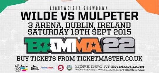 BAMMA 22 Exclusive: Philip Mulpeter set to make BAMMA debut against Tim Wilde