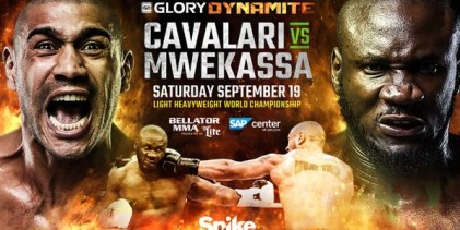 GLORY kickboxing Light-Heavyweight title bout set for Bellator: DYNAMITE