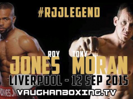 Tony Moran: I will go to the last breath with Roy Jones Jr.