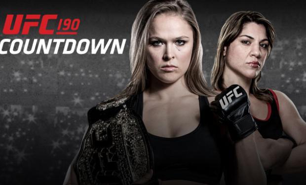 Countdown to UFC 190 – Ronda Rousey vs Bethe Correia