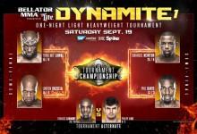 Bellator Light-Heavyweight tournament brackets feature potential rubber match final