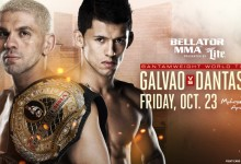 Four Bouts Added to 'Bellator 144: Galvao vs. Dantas 2'