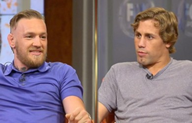 Conor McGregor and Urijah Faber engage in heated debut during interview to promote TUF