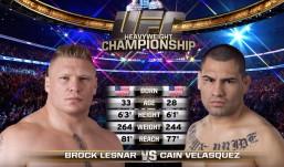 UFC 196 – Free Fight Cain Velasquez vs Brock Lesnar