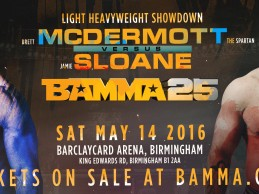 Three mouthwatering bouts added to BAMMA 25