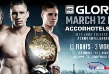 Rico Verhoeven set to defend his Heavyweight title at GLORY 28 Paris