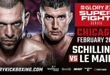 Joe Schilling is the face of GLORY's move to UFC Fight Pass