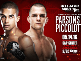 Adam Piccolotti vs Jordan Parsons added to Bellator 154