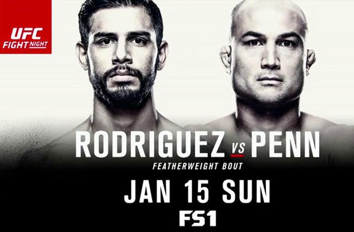 UFC Phoenix poster - MMA Plus